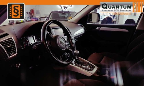 Reference Brno Chiptuning Audi Q5 2.0TDi Interier