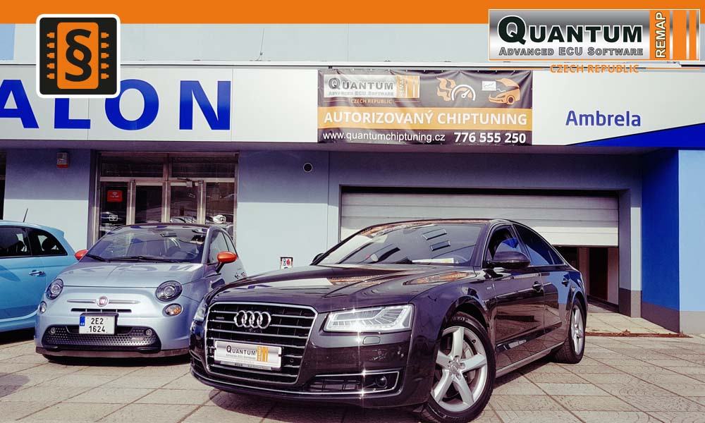 Reference Praha Chiptuning Audi A8 4.2TDi 283kW
