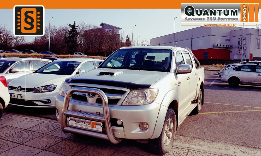 Reference Praha Chiptuning Toyota Hilux 2.5D-4D 88kW