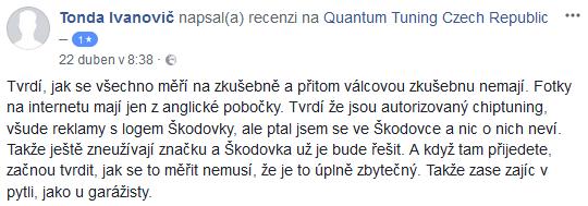 Chiptuning recenze Tonda Ivanovič
