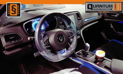 Válcová zkušebna MAHA - Chiptuning Renault Megane GT Interier