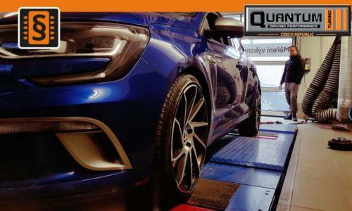 Válcová zkušebna MAHA - Chiptuning Renault Megane GT 1.6TCE
