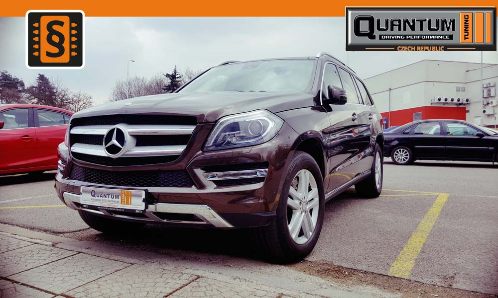 Reference Praha Chiptuning Mercedes GL-class 500 320kW