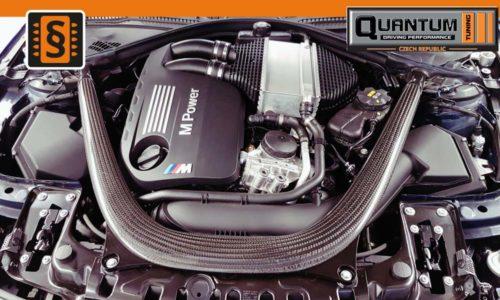 Reference Quantum Praha Chiptuning BMW M4 Engine