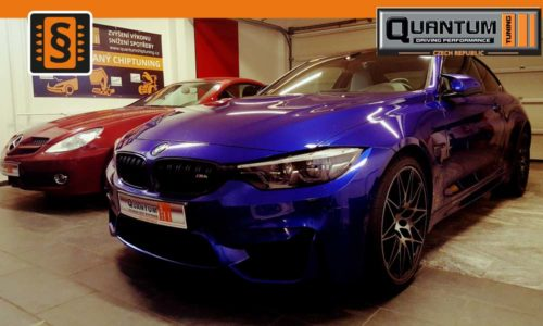 Reference Quantum Praha Chiptuning BMW M4 Competition