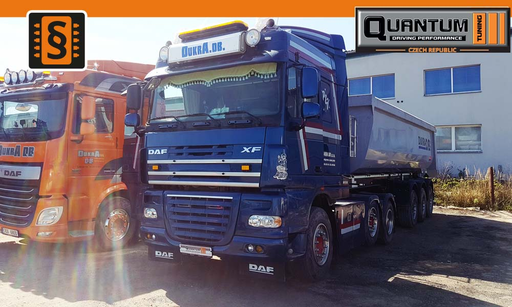 Reference Jindrichuv Hradec Chiptuning Daf XF 105 410hp 07