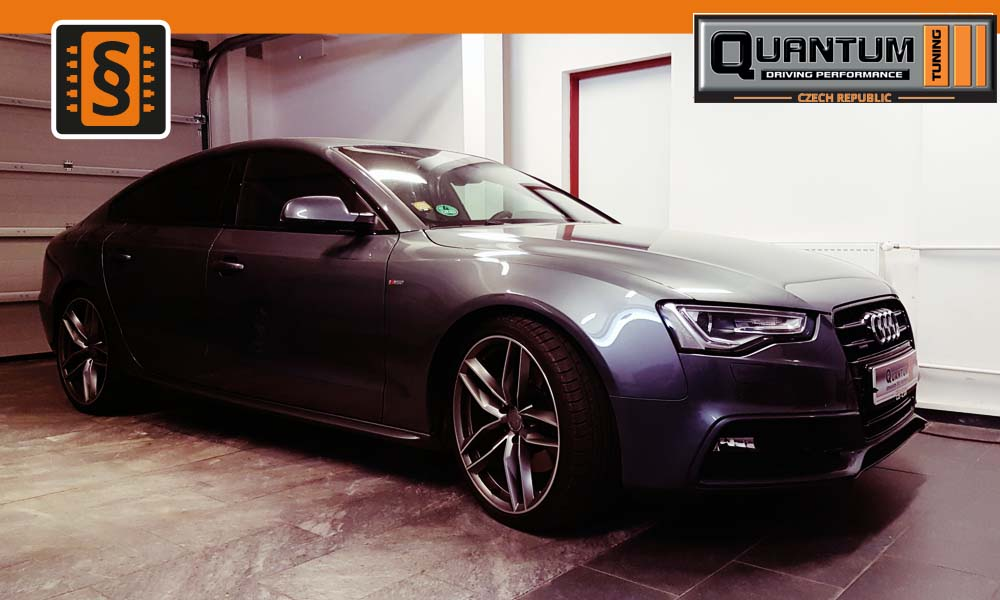 Reference Praha Chiptuning Audi A5 30TDI 180kw