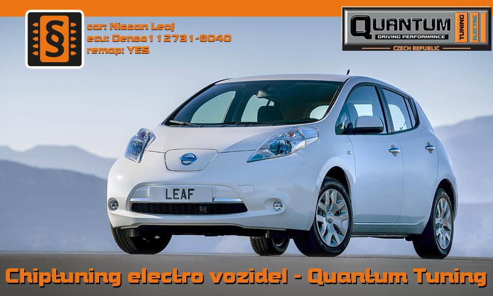Chiptuning elektro aut - Nissan Leaf