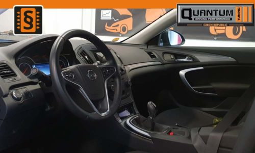 Reference Praha Chiptuning Opel Insignia 2.0CDTi Interier