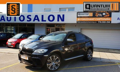 Reference Praha Chiptuning BMW X6 M50d