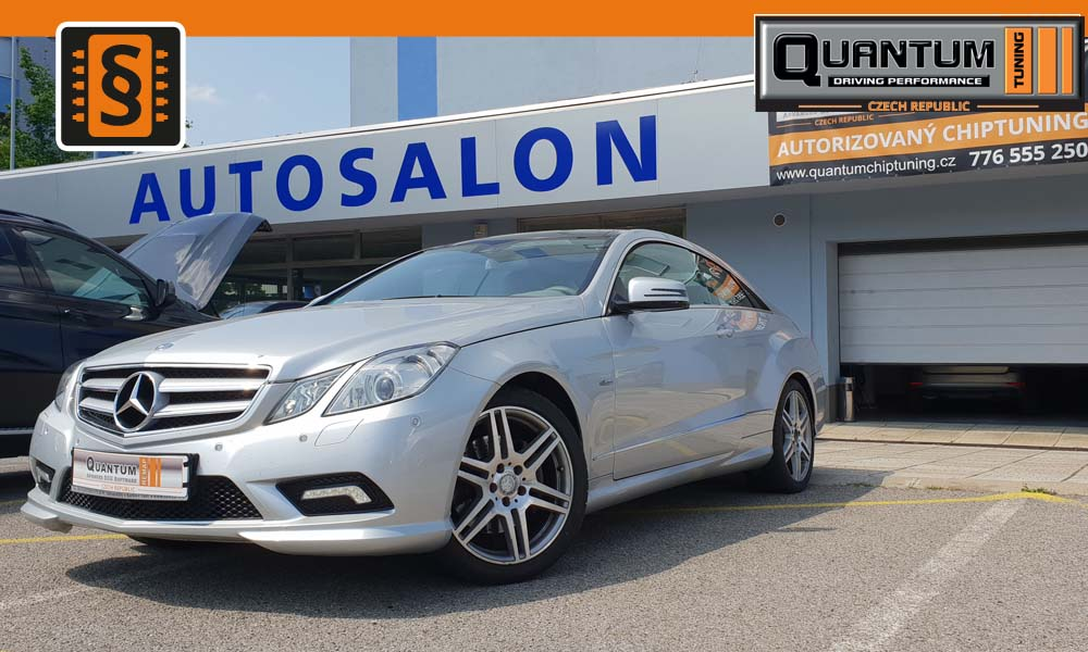 Reference Praha Chiptuning Mercedes E-Class 350CDi