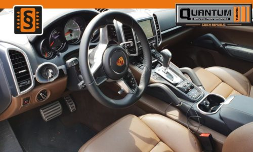 Reference Praha Chiptuning Porsche Cayenne S 4.2D Interier