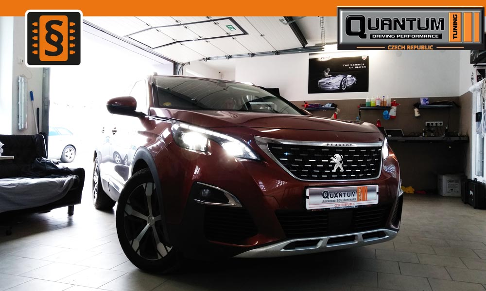 Reference Brno Chiptuning Peugeot 3008 1.6HDi 88kw