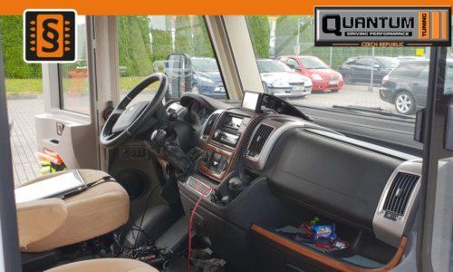 Reference Olomouc Chiptuning Obytný Vůz Dashboard