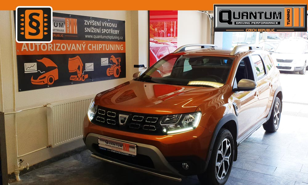 Reference Praha Chiptuning Dacia Duster 1.5dCi 81kw