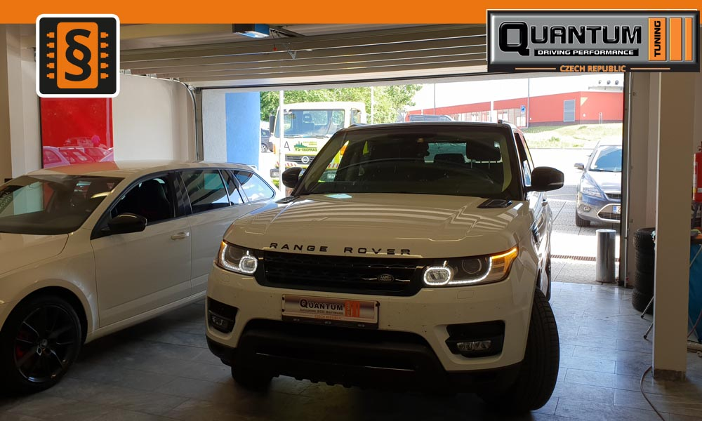 Reference Praha Chiptuning Land Rover Range Rover Sport 225kw