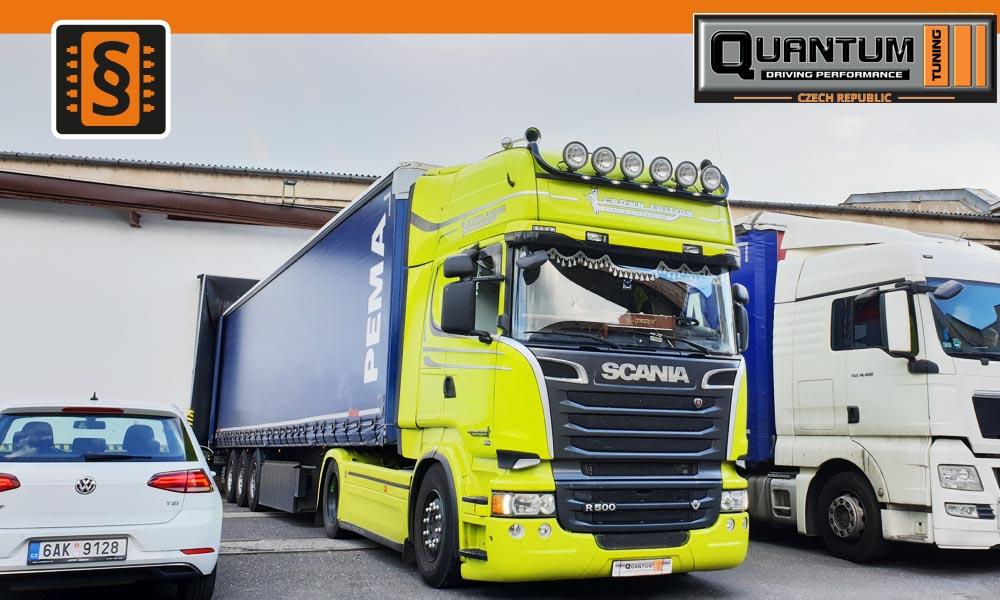 Reference Mělník Mobilní Chiptuning Scania R500