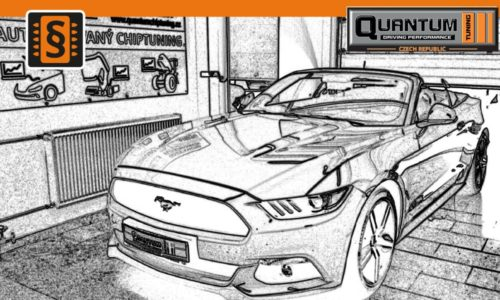 Reference Praha Chiptuning Ford Mustang 2.3Ecoboost draw