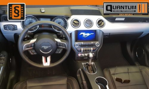 Reference Praha Chiptuning Ford Mustang 2.3Ecoboost Interier
