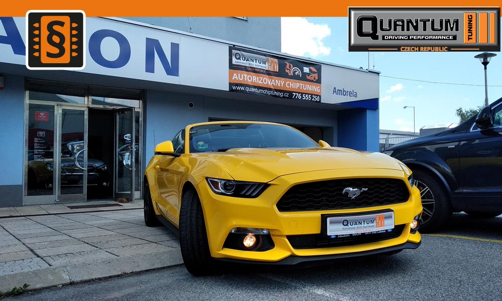 Reference Praha Chiptuning Ford Mustang 2.3Ecoboost
