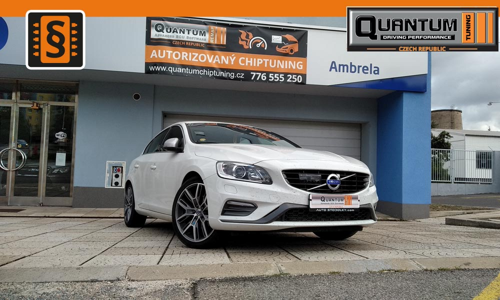 Reference Praha Chiptuning Volvo S60 2.0 D4 140kw