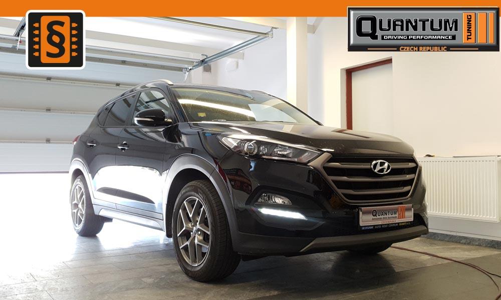 Reference Praha Chiptuning Hyundai Tucson 1.7CRDi 85kW