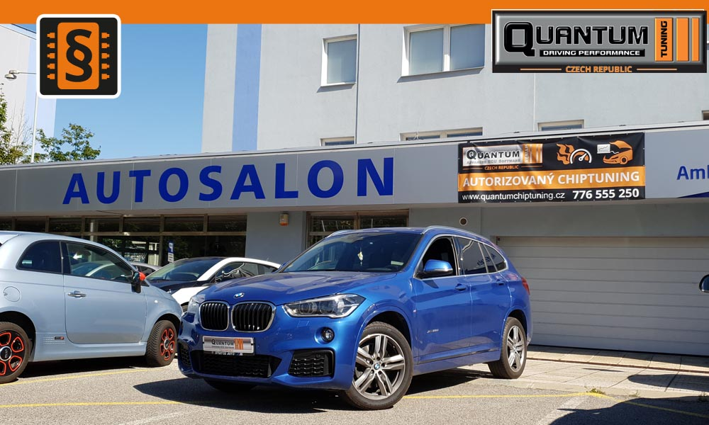 Reference Praha Chiptuning BMW X1 f45 140kw