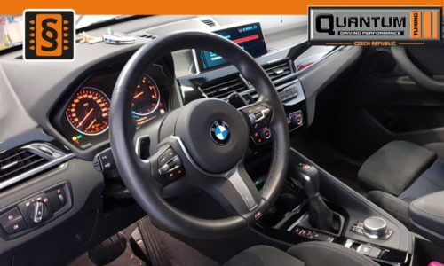 Reference Praha Chiptuning BMW X1 f45 Interier