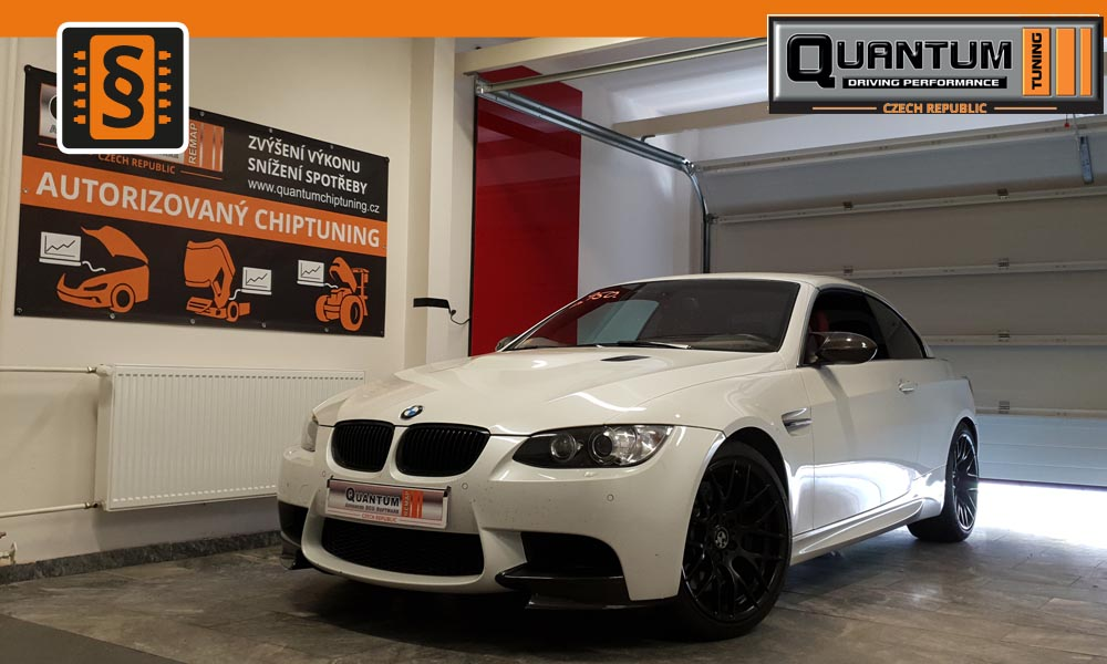 Reference Praha Chiptuning BMW M3 420HP