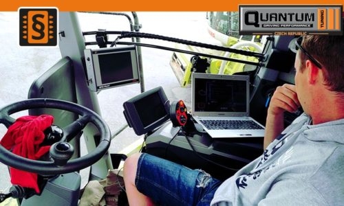 Reference Jindřichův Hradec Chiptuning Claas Lexion 770