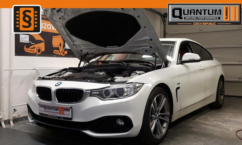 Reference Praha Chiptuning BMW 420i 135kw