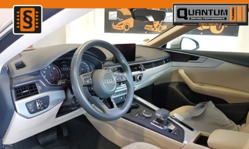 Reference Praha Chiptuning Audi A5 2.0TFSi Interier