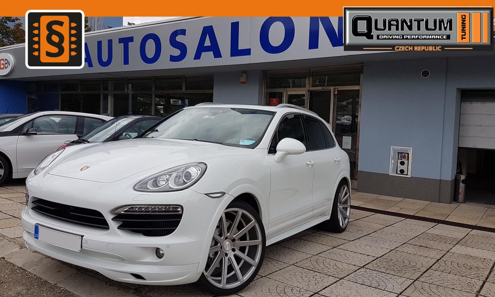 Reference Praha Chiptuning Porsche Cayenne S