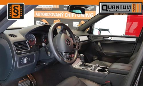 Reference Praha Chiptuning Volkswagen Touareg 3.0TDi Interier