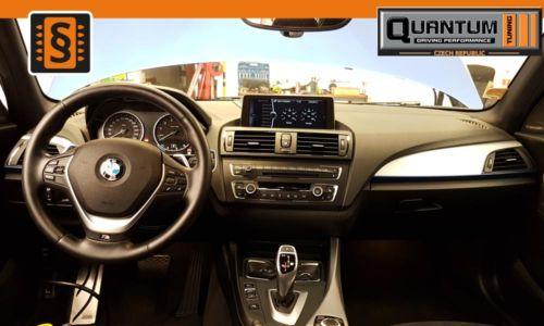 Reference Praha Chiptuning BMW M1 35i Interier