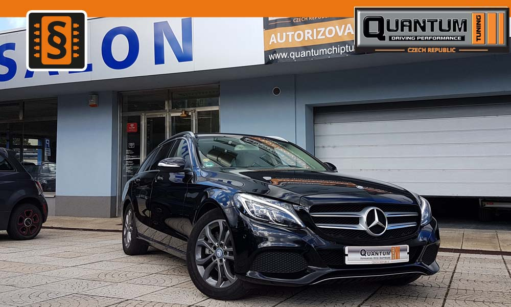Reference Praha Chiptuning Mercedes C-class 220d