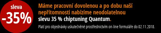 30% SLEVA na chiptuning Quantum