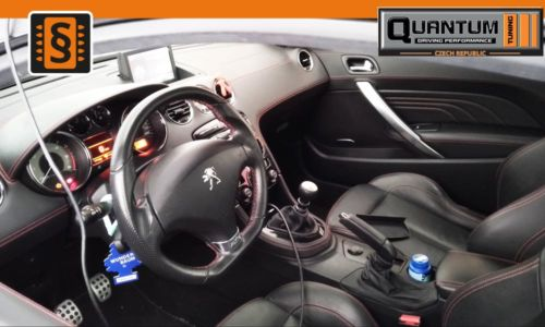 Reference Praha Chiptuning Peugeot RCZ 2.0HDi Interier