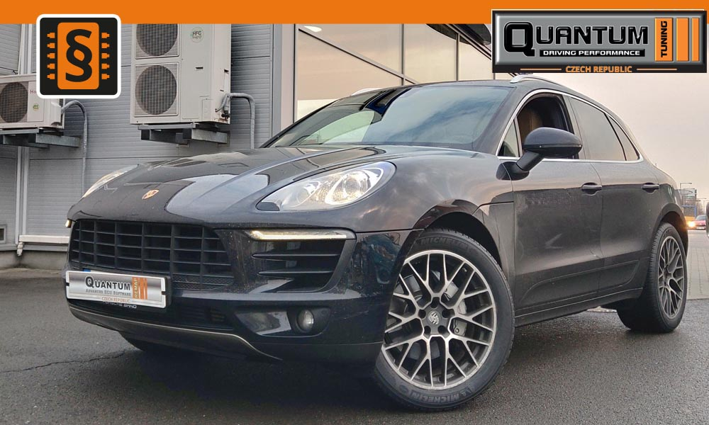 Reference Olomouc Chiptuning Porsche Macan 3.0TDi 190kW