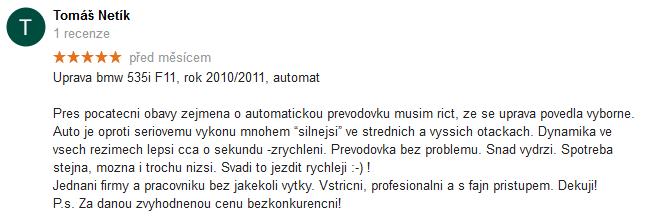Chiptuning recenze Google 29