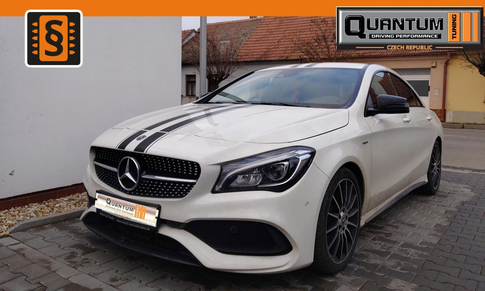 Reference Brno Chiptuning Mercedes CLA 180 90kw
