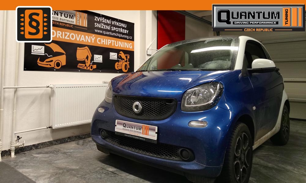 Reference Praha Chiptuning Smart ForTwo 0.9T 66kw