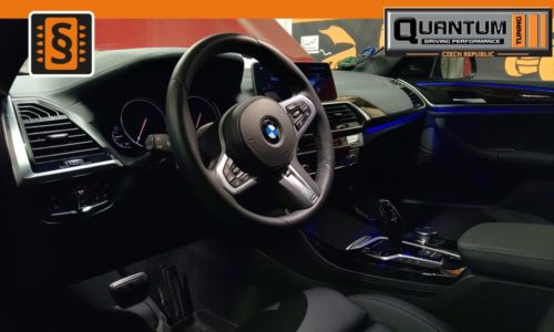 Reference Praha Chiptuning BMW X4 M40d interier
