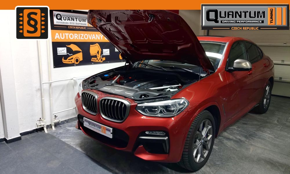 Reference Praha Chiptuning BMW X4 M40d