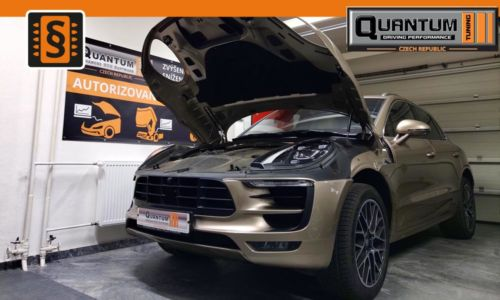 Reference Praha Chiptuning Porsche Macan