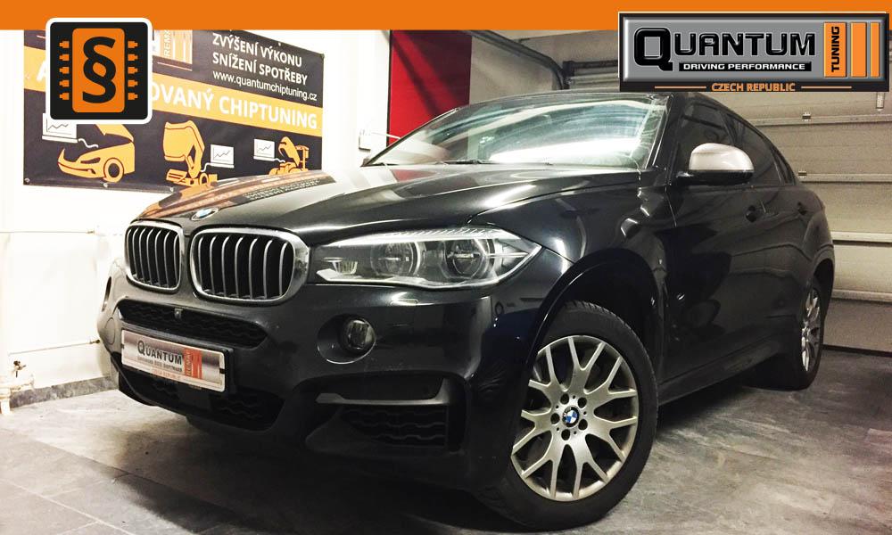 Reference Praha Chiptuning BMW X6 xDrive M50d