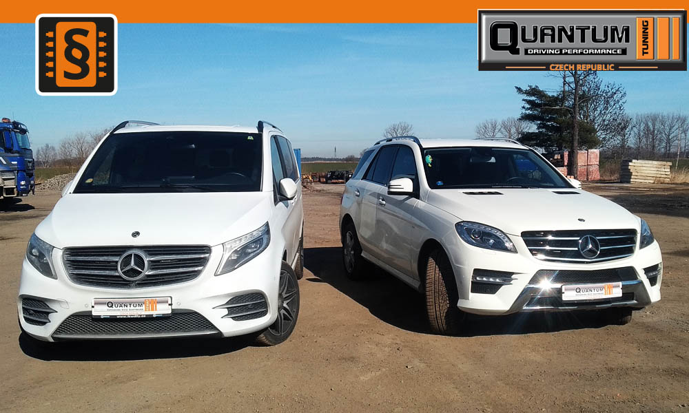 Reference Chiptuning Mercedes V-Class & ML-Class