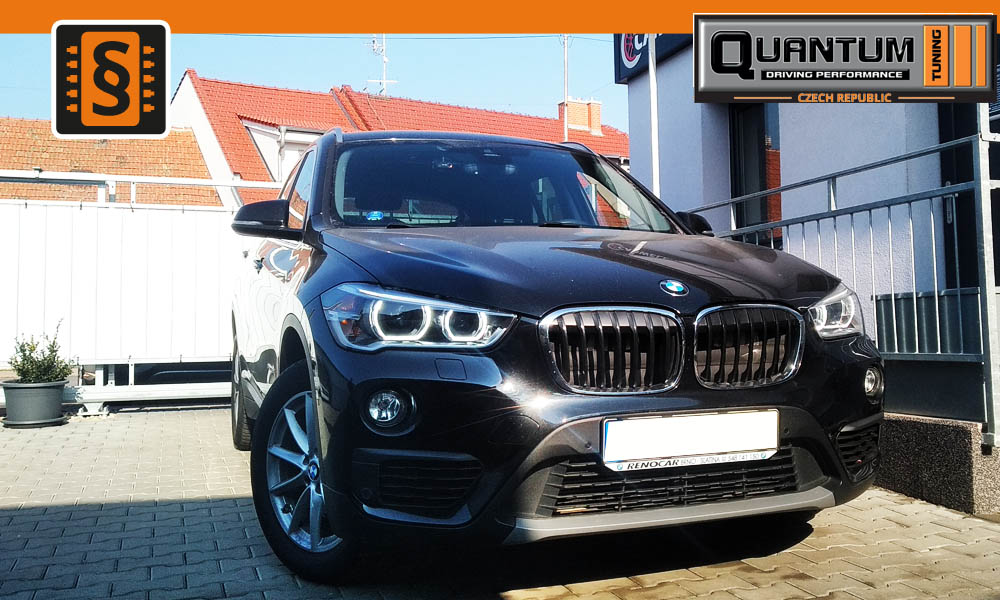 Reference Brno Chiptuning BMW X1 18d 150hp
