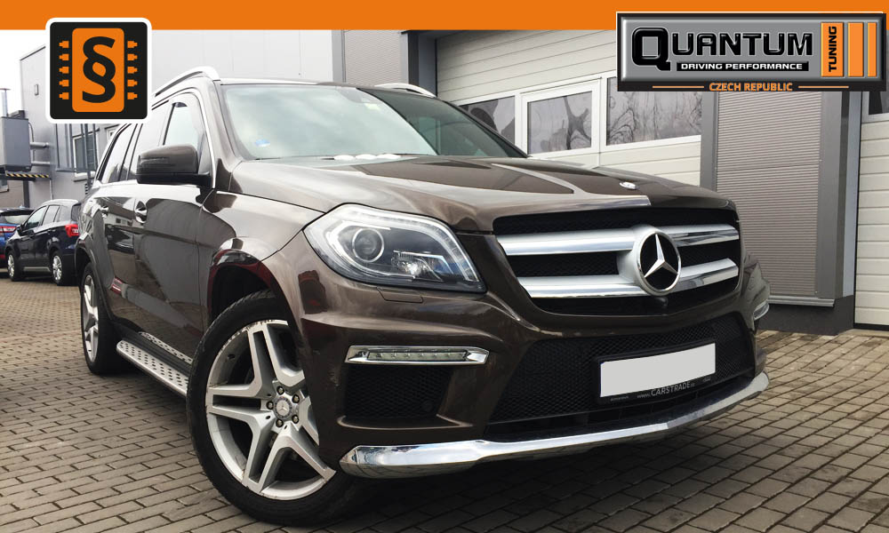 Reference Olomouc Chiptuning Mercedes GL 350CDi 190kW