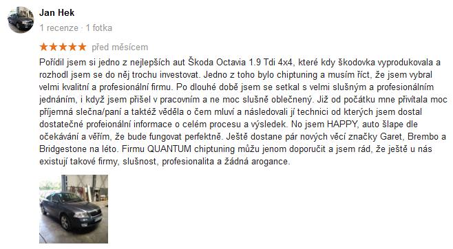 Quantum Chiptuning Google Recenze 33